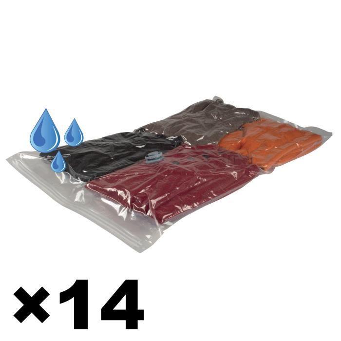 7 sacs sous vide x2 achat vente housse de rangement 7 sacs sous vide x2 cdiscount. Black Bedroom Furniture Sets. Home Design Ideas