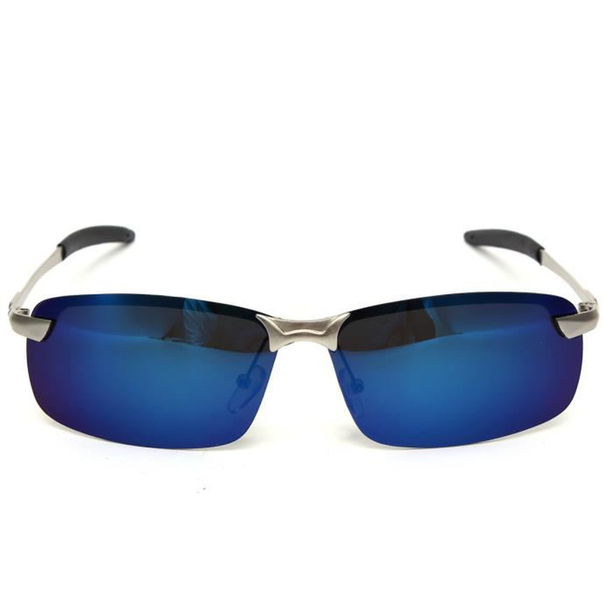 lunette de soleil homme polarisee bleu achat vente pas cher cdiscount
