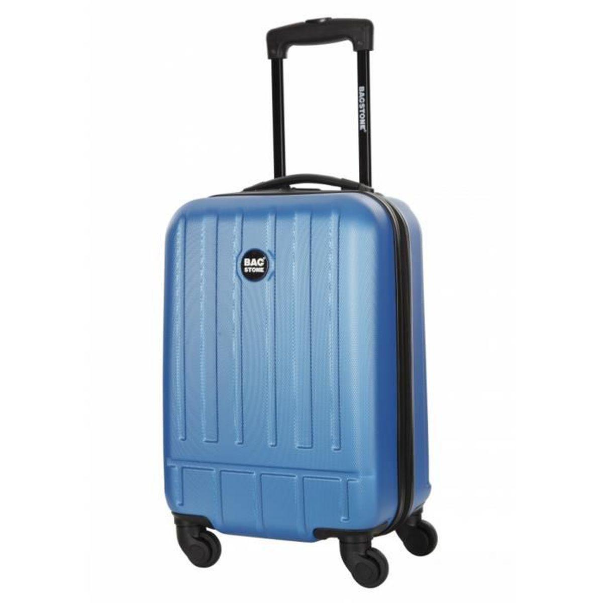 bag stone valise blues taille m 25cm bleu achat vente set de valises 3607070785829. Black Bedroom Furniture Sets. Home Design Ideas
