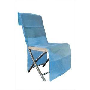 Housses de chaises jetable achat vente housses de for Housse de chaise turquoise
