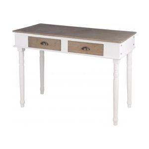 Table a manger bois avec tiroir achat vente table a for Table salle a manger qui prend pas de place