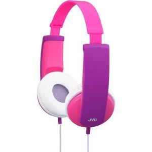CASQUE - ÉCOUTEUR AUDIO JVC HA-KD5 Casque fille rose-violet