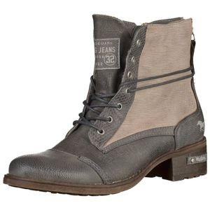bottines boots mustang femme achat vente bottines boots mustang femme pas cher cdiscount. Black Bedroom Furniture Sets. Home Design Ideas