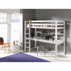 Lit mezzanine enfant avec bureau achat vente lit - Lit enfant avec bureau ...