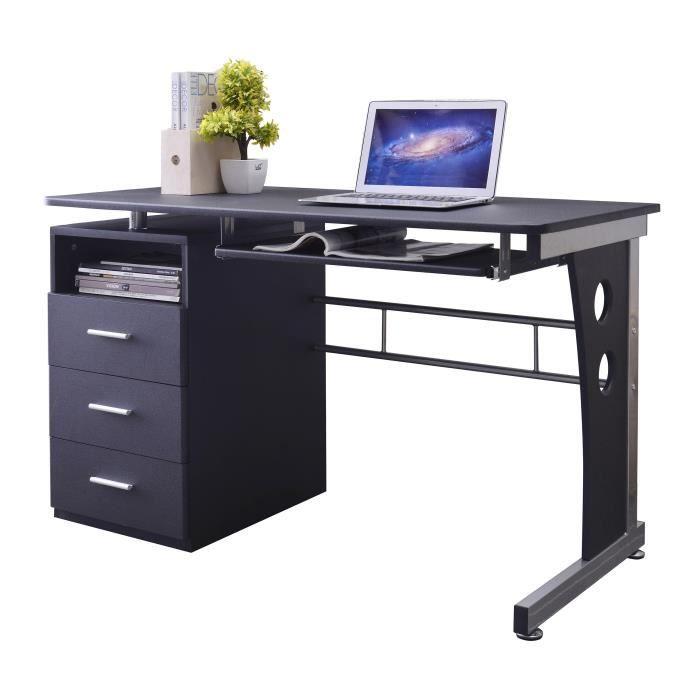 bureau informatique noir s 352 2072 achat vente