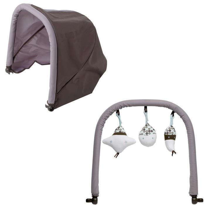 beaba canopy arche de jeux pour transat fille achat vente transat balancelle