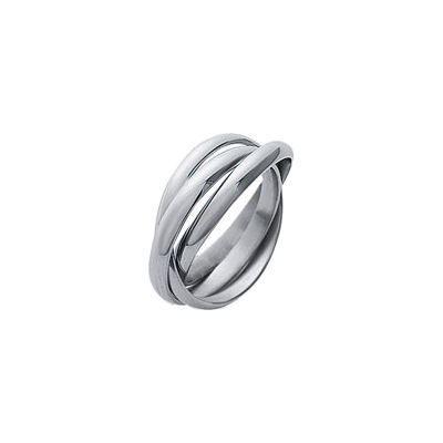bague alliance 3 anneaux acier argent achat vente bague anneau bague alliance 3 anneaux. Black Bedroom Furniture Sets. Home Design Ideas