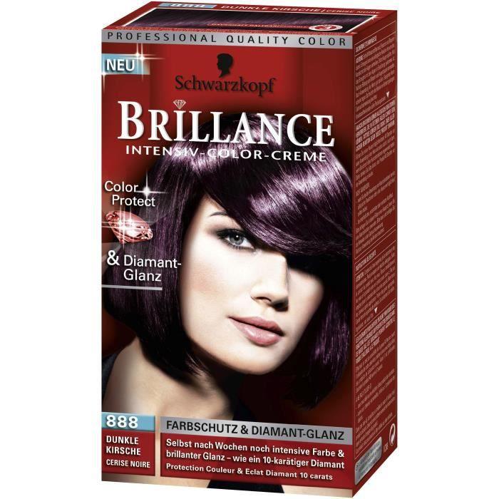 Couleur de cheveux brillance