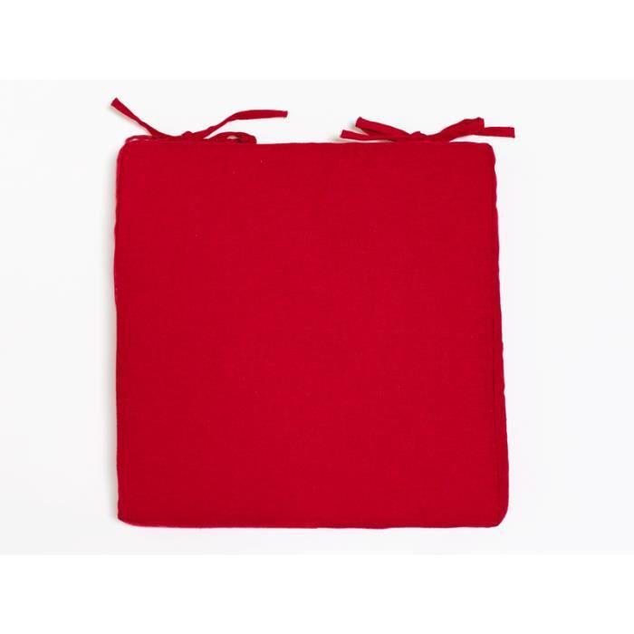 Dessus de chaise coton recycl panama rouge achat - Dessus de chaises ...