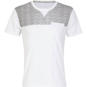 SOFTWEAR T-Shirt Homme Clay - Manches Courtes - Blanc