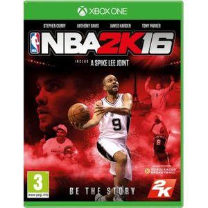 JEUX XBOX ONE NBA 2K16 Jeu Xbox One