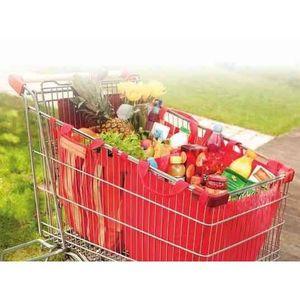 sac pour chariot de course achat vente sac pour chariot de course pas cher les soldes sur. Black Bedroom Furniture Sets. Home Design Ideas