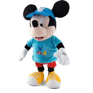 FIGURINE - PERSONNAGE MICKEY Peluche Mon ami Mickey 37 cms
