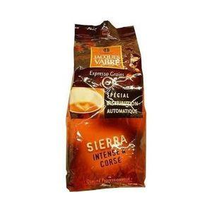 CAFÉ - CHICORÉE Jacques Vabre, Café en grains Sierra intense et co
