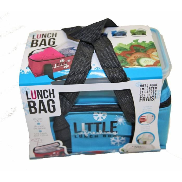lunch box sac fraicheur isotherme pain de glace bl achat vente lunch box bento lunch box. Black Bedroom Furniture Sets. Home Design Ideas