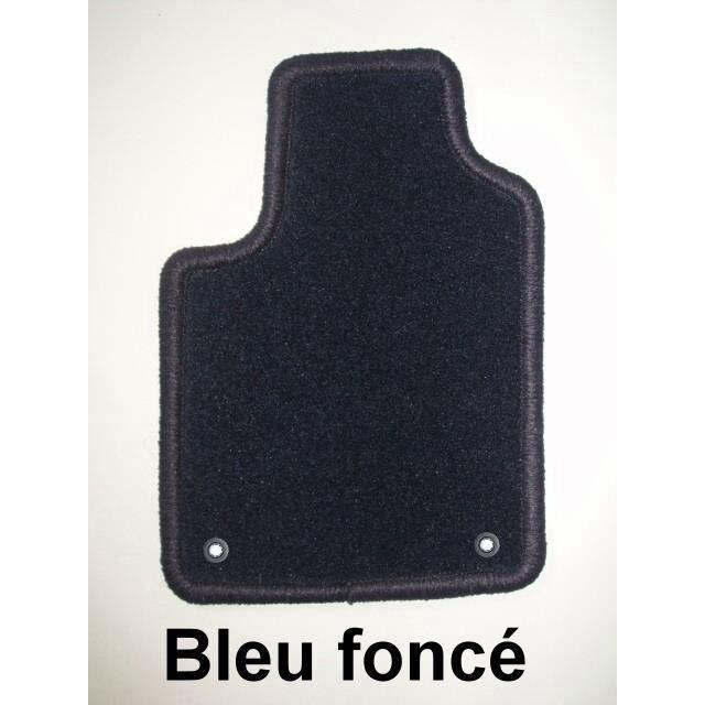 peugeot 308 sw 05 08 4 tapis en moquette bleu achat. Black Bedroom Furniture Sets. Home Design Ideas