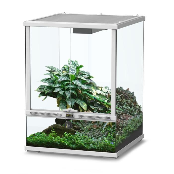 terrarium smart line 45 blanc haut achat vente vivarium terrarium terrarium smart. Black Bedroom Furniture Sets. Home Design Ideas