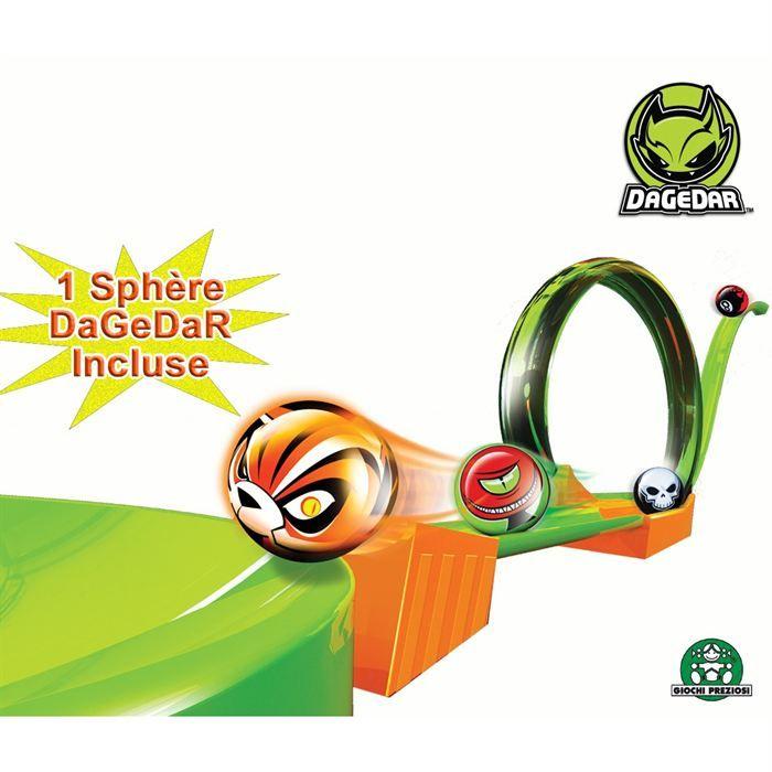 Circuit DGR Battle Jump 2 voies avec sphère Dagedar  Jeux et jouets Giochi