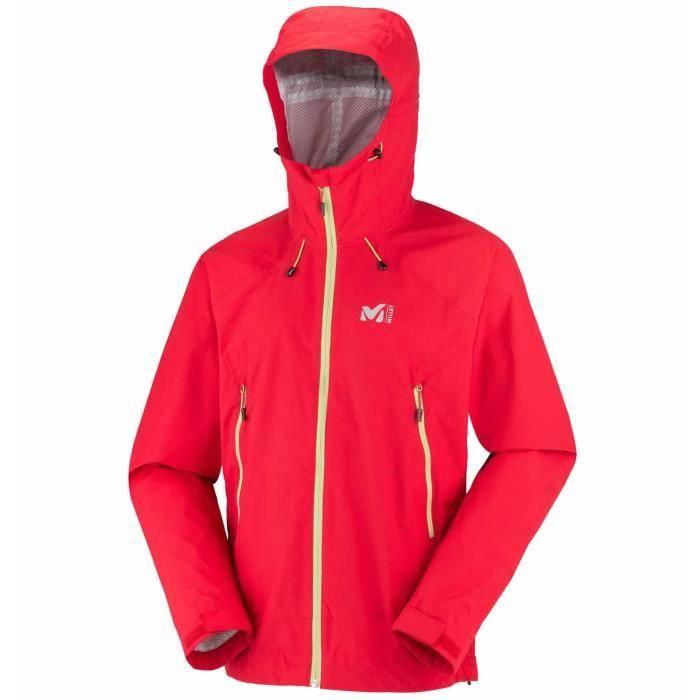 veste de randonn e homme millet fitz roy 2 5 rouge achat vente veste de sport soldes d. Black Bedroom Furniture Sets. Home Design Ideas