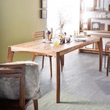 Table de salle manger 180x90 en palissandre luna achat for Table de salle a manger 15 couverts