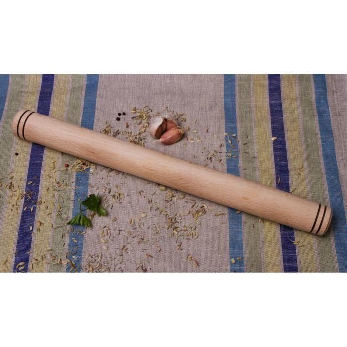 Rouleau p tisserie en bois achat vente rouleau - Rouleau patisserie bois ...