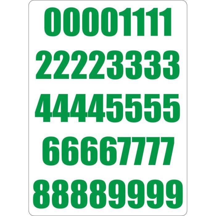 Stickers numero moto achat vente stickers numero moto for Stickers pas cher pour porte