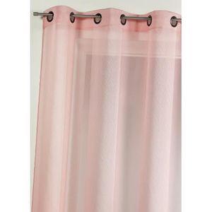 voilage rose boudoir achat vente voilage rose boudoir. Black Bedroom Furniture Sets. Home Design Ideas