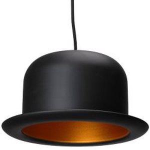 Luminaire chapeau achat vente luminaire chapeau pas cher les soldes su - Suspension noire pas cher ...