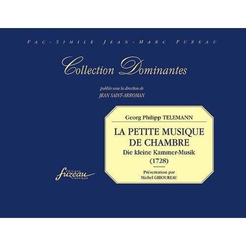 La petite musique de chambre achat vente partition la for Bach musique de chambre
