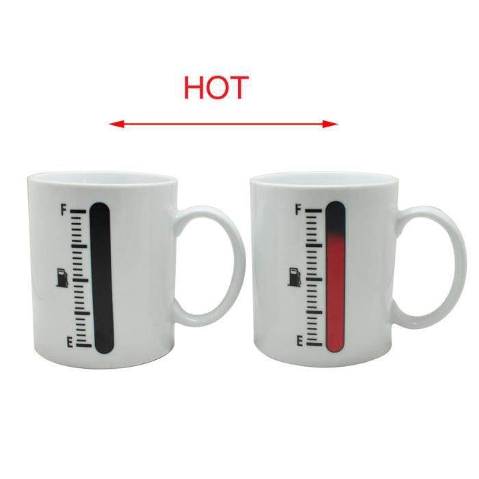 r servoir up tasse magique sonde de temp rature de tasse de caf thermom tre tasse de cadeau. Black Bedroom Furniture Sets. Home Design Ideas