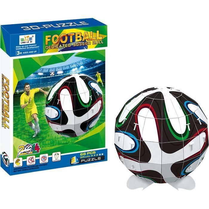 Puzzle 3d ballon de foot de la coupe du monde igor achat vente puzzle cdiscount - Jeux de foot de la coupe du monde ...