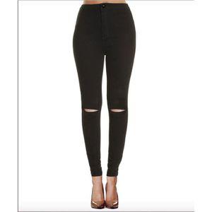 jean noir dechire femme achat vente jean noir dechire femme pas cher cdiscount. Black Bedroom Furniture Sets. Home Design Ideas