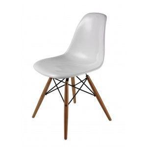 Chaise dsw de charles eames en fibre de verre achat vente chaise blanc - Chaises eames dsw pas cher ...