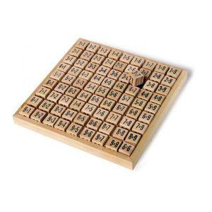JEU SOCIÉTÉ - PLATEAU Table de calcul en bois