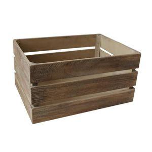 bac de rangement bois achat vente bac de rangement bois pas cher cdiscount. Black Bedroom Furniture Sets. Home Design Ideas