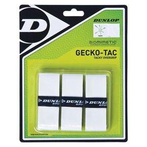 GRIP RAQUETTE DE SQUASH Squash Dunlop Overgrip Gecko-tac White
