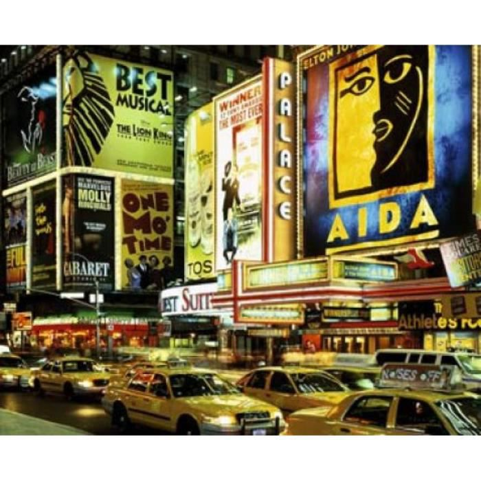 New York Poster Reproduction Times Square, New Yor Par Tomii (50 x