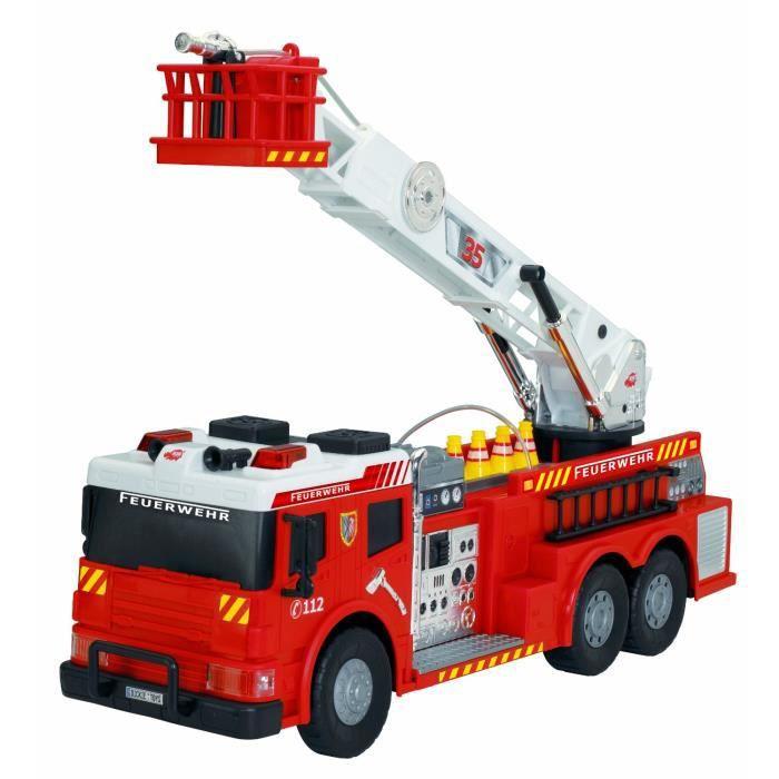 Camion de pompier 62cm achat vente voiture camion cdiscount - Camion pompier sam ...