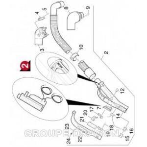 Flexible complet pour aspirateur karcher tsc achat vente pi ce entreti - Piece aspirateur karcher ...