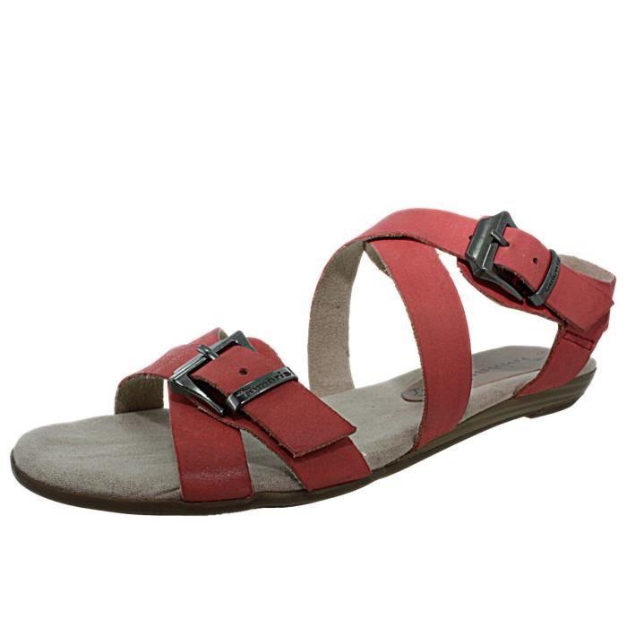 nus pieds tamaris 28164 corail chaussures femme corail achat vente sandale nu pieds. Black Bedroom Furniture Sets. Home Design Ideas
