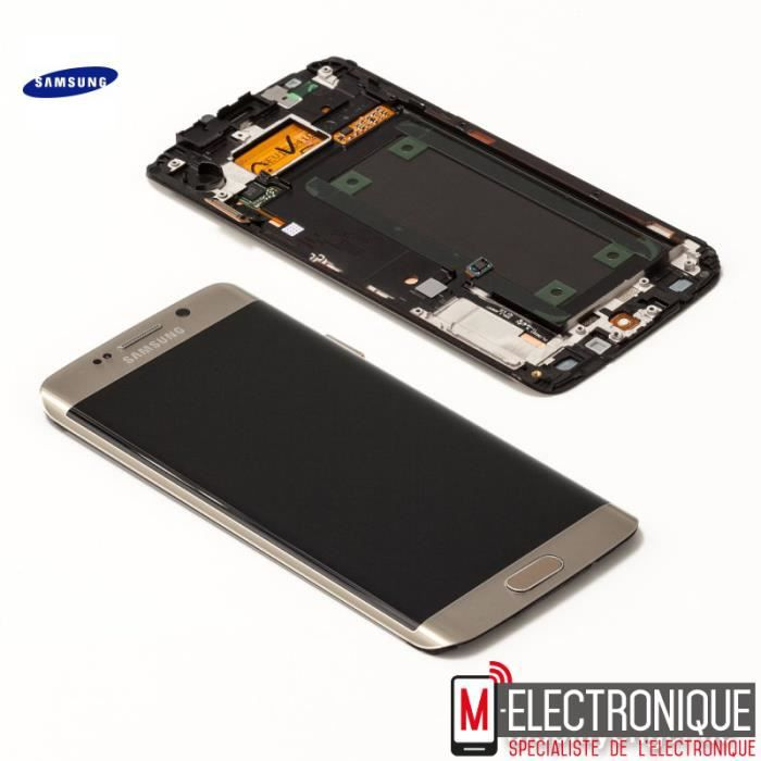 Ecran lcd gold original samsung galaxy s6 edge g928 for Samsung s6 photo ecran