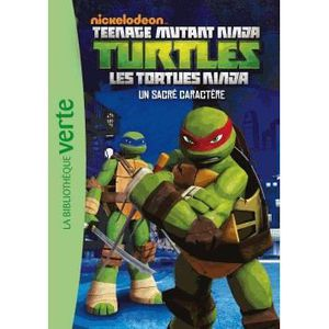 Livre tortue ninja achat vente livre tortue ninja pas cher cdiscount - Les 4 tortues ninja ...