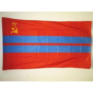 DRAPEAU DÉCORATIF Drapeau République socialiste soviétique du Turkmé