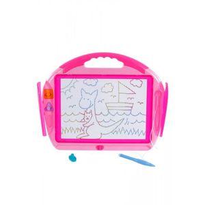 ARDOISE ENFANT Mon ardoise magique créacolor avec stylos et tampo