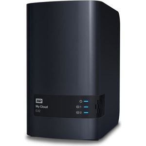 """SERVEUR STOCKAGE - NAS  WD NAS My Cloud EX2 Ultra 8To 3,5"""""""