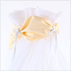ciel de lit jaune pour lit berceau cododo babybay achat vente ciel de lit b b 4260095221834. Black Bedroom Furniture Sets. Home Design Ideas