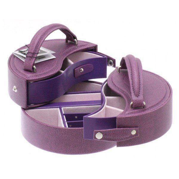 boite bijoux euclide violet achat vente boite a. Black Bedroom Furniture Sets. Home Design Ideas