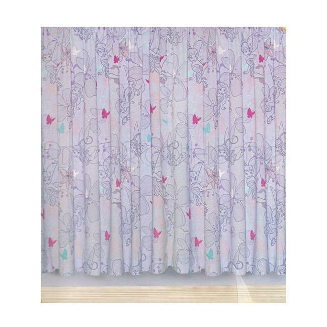 RIDEAU FEE CLOCHETTE - Disney - Une paire de rideaux