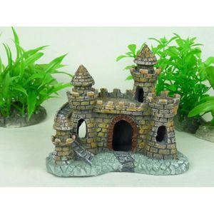 Deco chateau aquarium achat vente deco chateau for Decoration pour aquarium