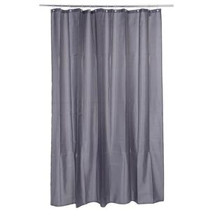rideau de douche de couleur gris souris photo. Black Bedroom Furniture Sets. Home Design Ideas